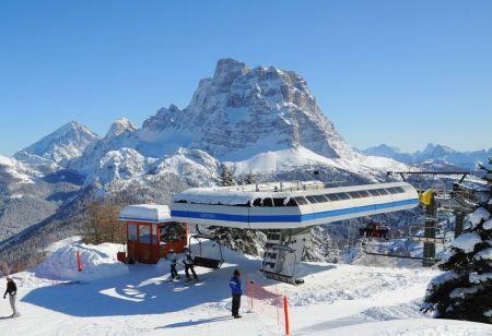 Skiareál Civetta